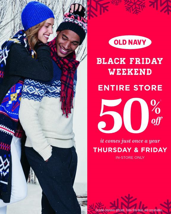 Old Navy Black Friday 2017 Ads, Deals and Sales